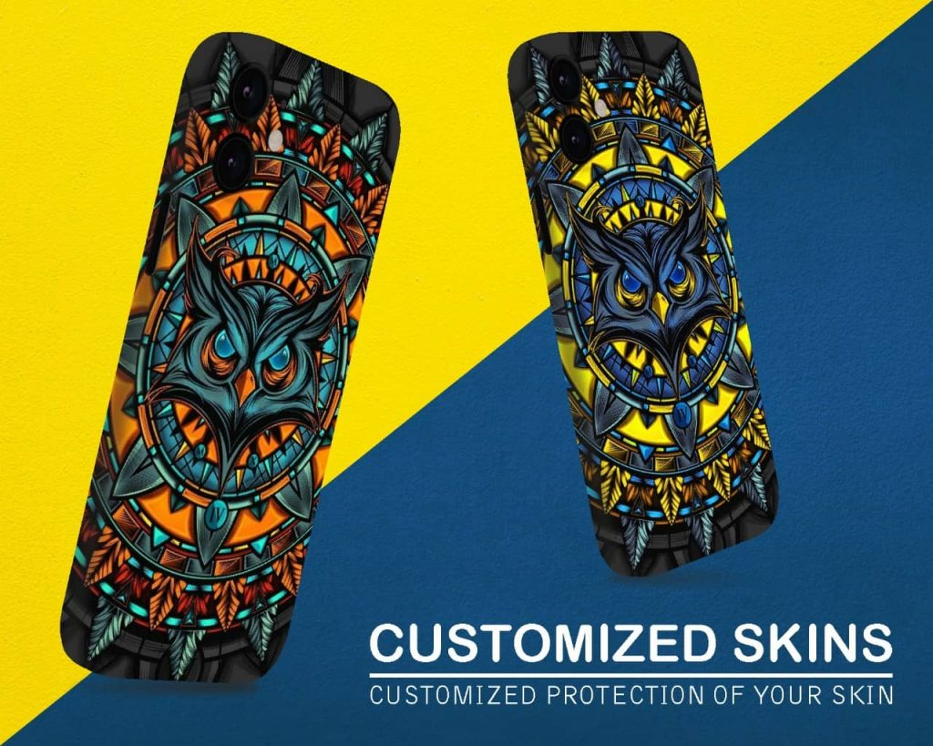 Customize skins, covers, bags and screen guard