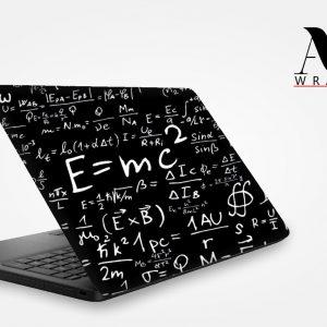 Physics Equations Laptop Skin