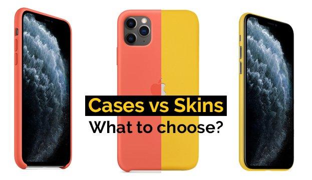 Cases vs Skins