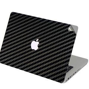 Carbon Black Laptop Skin