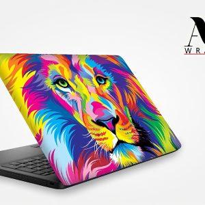 Colorful Lion Paint