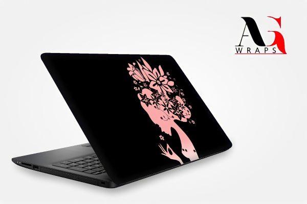 Flower Girl Laptop Skin