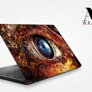 Mechanical Eye Laptop Skin