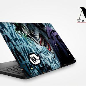 Scary Joker Laptop Skin